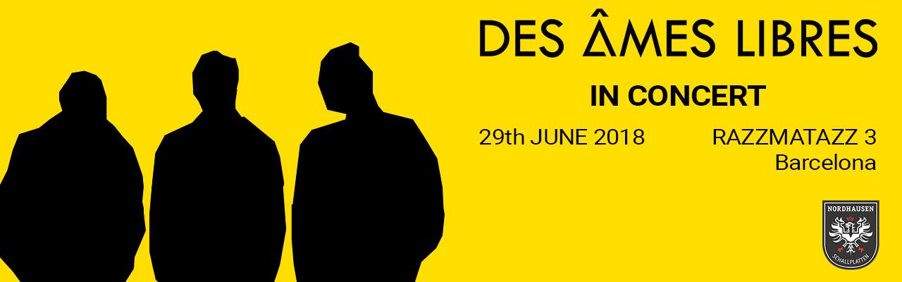 Des Âmes Libres in concert - Razzmatazz 3 Barcelona 29.06.20108