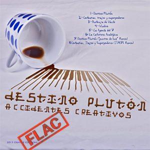 Destino Plutón   Accidentes Creativos (NORDFLAC-50001)