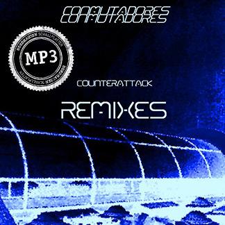 Conmutadores | Counterattack Remixes - Disco Azul (NORDMP3-80007)